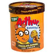 Chocolate-Banana Ice Cream