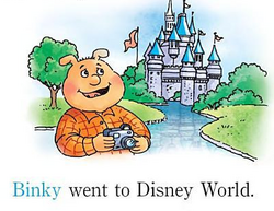 Binky disney world