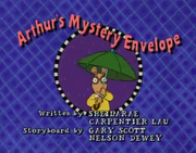 Arthur's Mystery Envelope Title Card