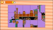 Game Top Twenty 12 Train Puzzle