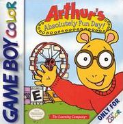 Arthur's Absolutely Fun Day Coverart