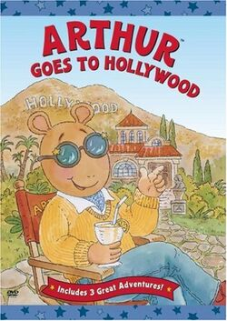 Arthur Goes to Hollywood DVD