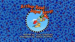 Arthur Read Super Saver Title Card