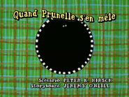 Prunella Sees the Light French