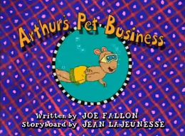 Arthur's Pet Business title card