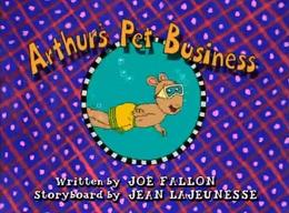 Arthur's Pet Business title card