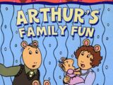 Arthur's Family Fun (2005 DVD)