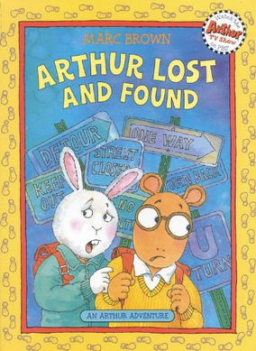 Arthur Lost and Found Book Cover