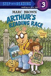 Arthur's Reading Race book cover