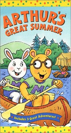 Arthur's Great Summer (VHS)