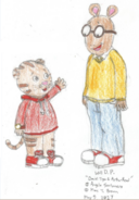 Arthur Read and Daniel Tiger 1