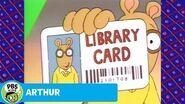 ARTHUR Library Card Song!