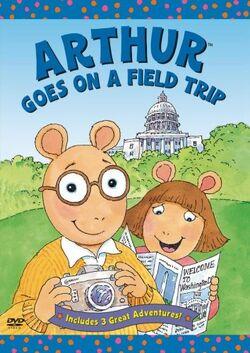 Arthur Goes on a Field Trip DVD
