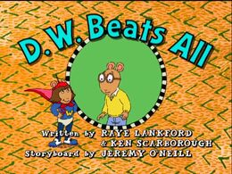 D.W. Beats All - title card