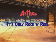 Its only rock n roll Card