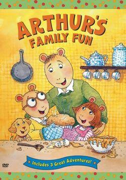 Arthur's Family Fun DVD
