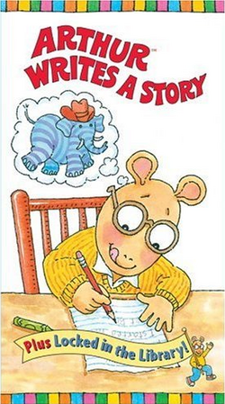 Arthur Writes a Story VHS