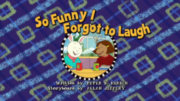 So funny i forgot to laugh Title Card