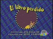 Arthur's Lost Library Book Spanish