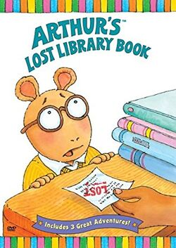 Arthur's Lost Library Book DVD