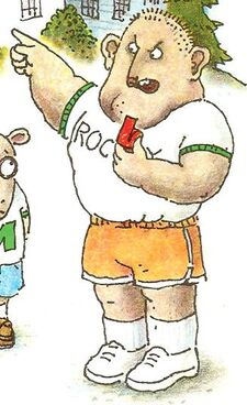 Arthur goes to camp book - Rocky