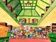 Arthur cast sing-along