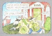Bank robbers in the book