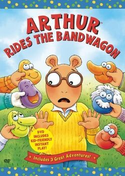 Arthur Rides the Bandwagon DVD