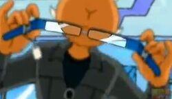 Helmutite glasses