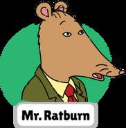 Francine's Tough Day Mr. Ratburn head 2