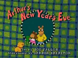 Arthur's New Year's Eve Title Card