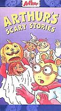 Arthur's Scary Stories VHS