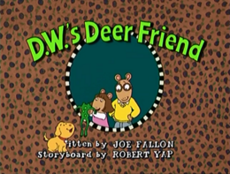 D.W.'s Deer Friend Title Card