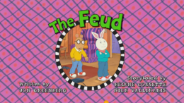 The Feud Title Card