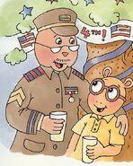 VolunteeroftheYear - Mr. Evans in uniform