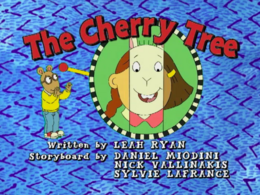 The Cherry Tree title card