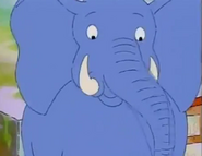 ChickenPox, Arthur's blue Elephant's face