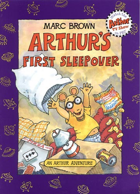 Arthur's First Sleepover Book Cover
