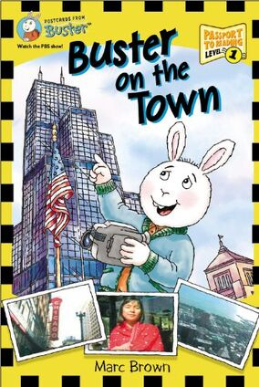 Buster on the Town cover