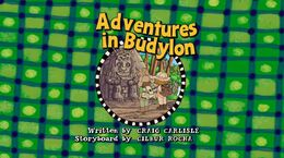 Adventuresinbudylontitlecard uk