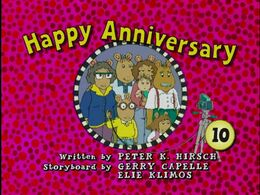 Happy Anniversery