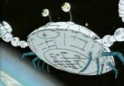 Spaceship crab