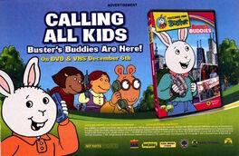 Busters Buddies DVD advertisement Nickelodeon Magazine Dec Jan 2006