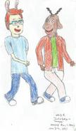 George and Carl as Teenagers June 5, 2017