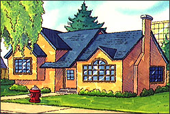 Barneses' House