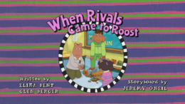 When Rivals Came to Roost Title Card