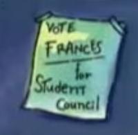 Frances mention