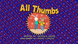 All Thumbs Title Card