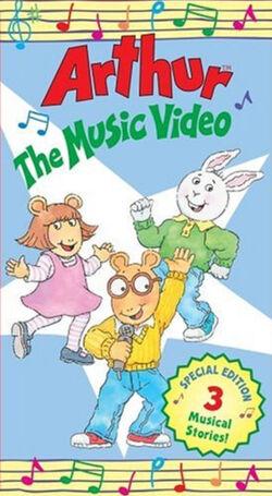 Arthur-TheMusicVideoVHS