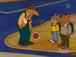 Arthur vs. the Very Mean Crossing Guard